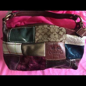 Coach sachets style mind hand purse